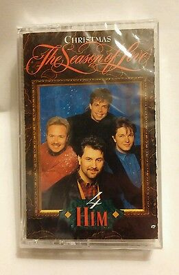 HIM CHRISTMAS THE SEASON OF LOVE MUSIC CLEAR CASSETTE TAPE BRAND NEW SEALED