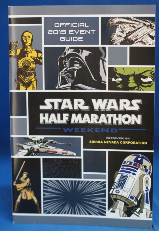 Inaugural Star Wars Half Marathon Weekend 2015 Event Guide Run Disney