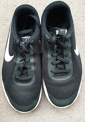 Nike Flex Experience RN 7 Women's Black Knit Running Trainers UK Size 4