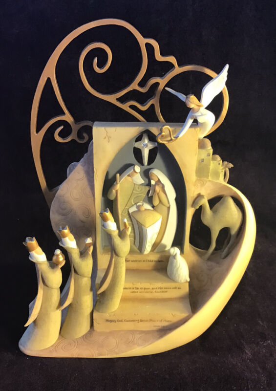 Legacy Of Love Christmas Nativity Figurine by Kim Lawrence 2008. NEW Gregg Gifts