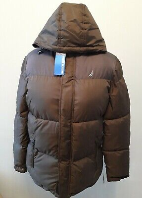 Mens Nautica Puffer Coat. Olive. Size M. New with tags.
