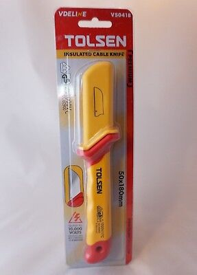 Tolsen Insulated Cable Knife V50418