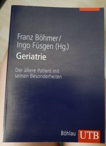 Geriatrie: Der ältere Patient Buch Senioren Pharmazie Medizin Pflege