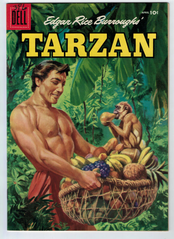 TARZAN #79 7.5 OFF-WHITE TO WHITE PAGES SILVER AGE
