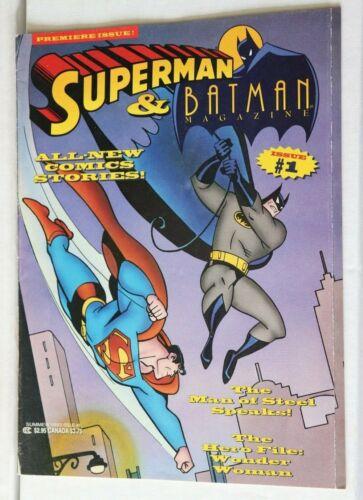 Superman and Batman Magazine Premiere Issue #1+ Bonus Poster