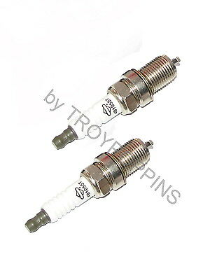 BRIGGS & STRATTON ENGINE OHV PARTS VANGUARD V-TWIN-2-OEM SPARK PLUGS 16HP 20HP for sale  Shipping to Canada