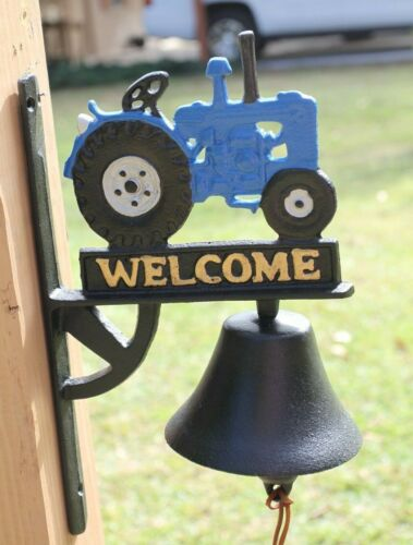 Tractor Welcome Loud Bell Ringer, Cast Iron H-137