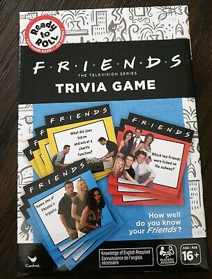 New Friends TV Show Trivia Card Game - by Cardinal