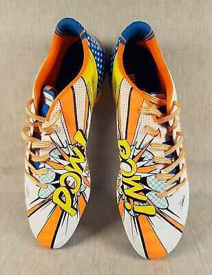 Puma Limited Edition evoPOWER 1.2 POW! Pop Art Football Boots UK 10 2015 Messi