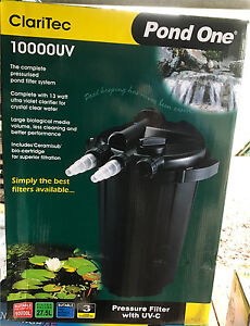 Pond One ClariTec 10000UV Pond Pressure Filter with UV-C Londonderry Penrith Area Preview
