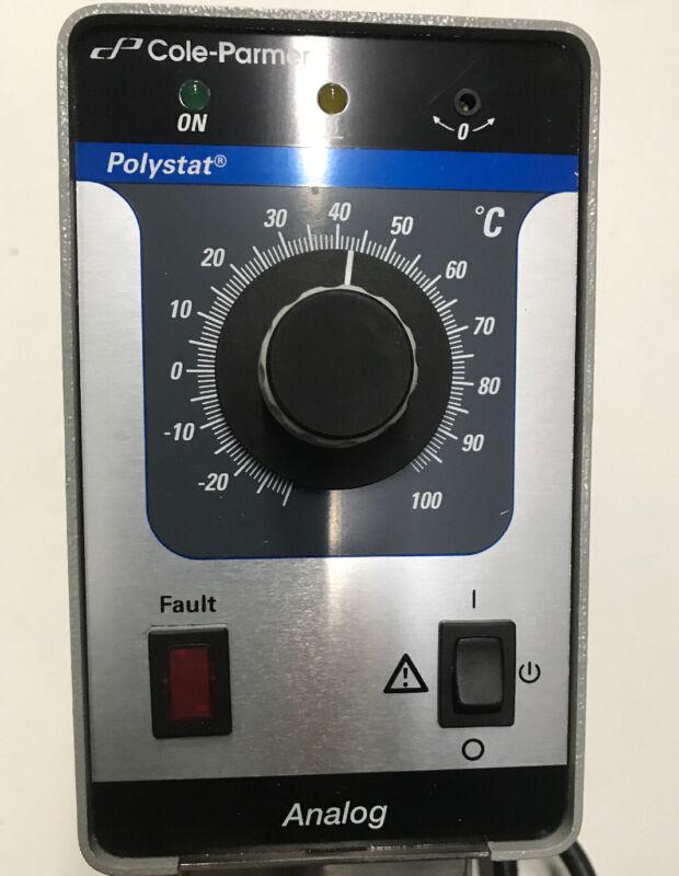 Cole Parmer Polystat Temperature Controller 110volts Typ 011-4187