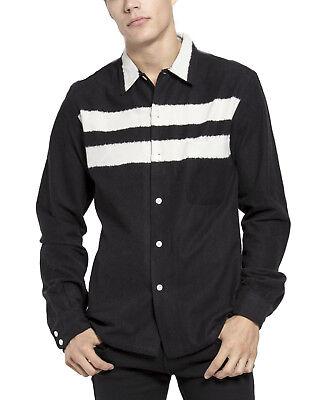 TRIPP GOTHIC ROCKER BICKER RETRO PUNK GOTH ROCK BLACK 80S FLANNEL SHIRT TFL102 Casual Button-Down Shirts