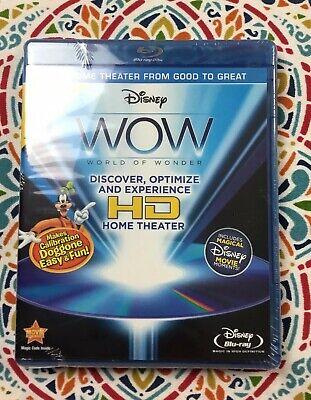 Disney WOW: World of Wonder (Blu-ray Disc, 2010, 2-Disc