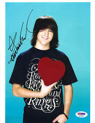 Mitchel Musso Hanna Montana Phineas Ferb Signed Autograph 8x10 Photo PSA DNA COA
