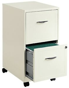lockable filing cabinet white file cabinet 2 drawer rolling locking filing metal 22761