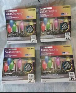 Brand new in box  LED color changing large string lights