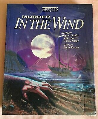 bePuzzled Murder In The Wind 500 Piece Mystery Jigsaw Puzzle Susan Kenney New
