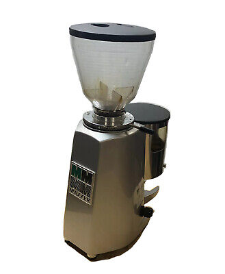 Mazzer Luigi Mini Timer Silver Commercial Coffee Grinder Cafe Msrp 759.00