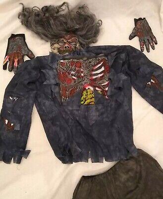 Fastnacht Karneval Fasching Zombie Halloween Kostüm - Zombiekostüm Horrorkostüm