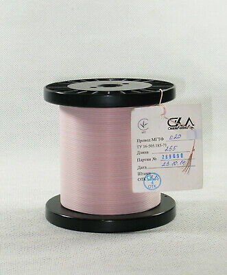 Mgtf Teflon Ptfe Wire 0.20mm2  24 Awg - 40 Meters