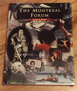 Brand New Sealed The Montreal Forum official HC book 1924-1996