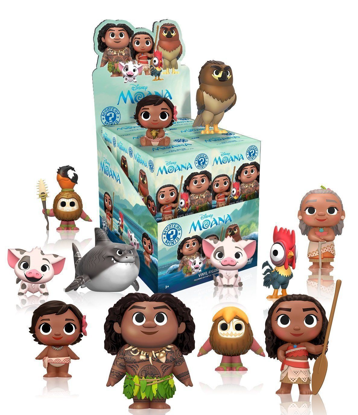 disney moana funko mystery mini figure toy