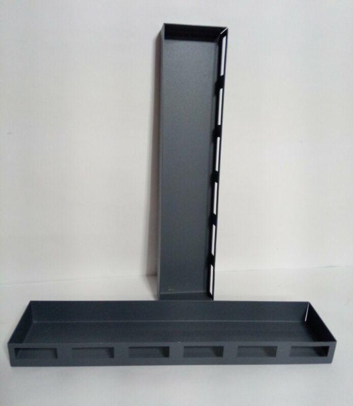 2x SecureIt SEC-184-95 CradleGrid Gun Safes 6 Louver Metal Storage Trays