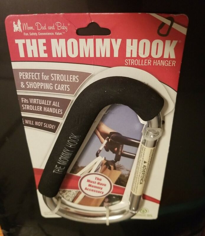 The Mommy Hook New Authentic Original - Accessory Stroller Assistant Clip