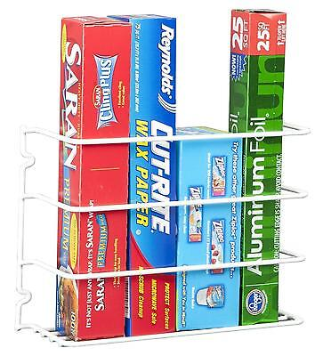 Kitchen Cabinet Wall Mount Pantry Closet Door Wrap Rack Organizer Storage Steel