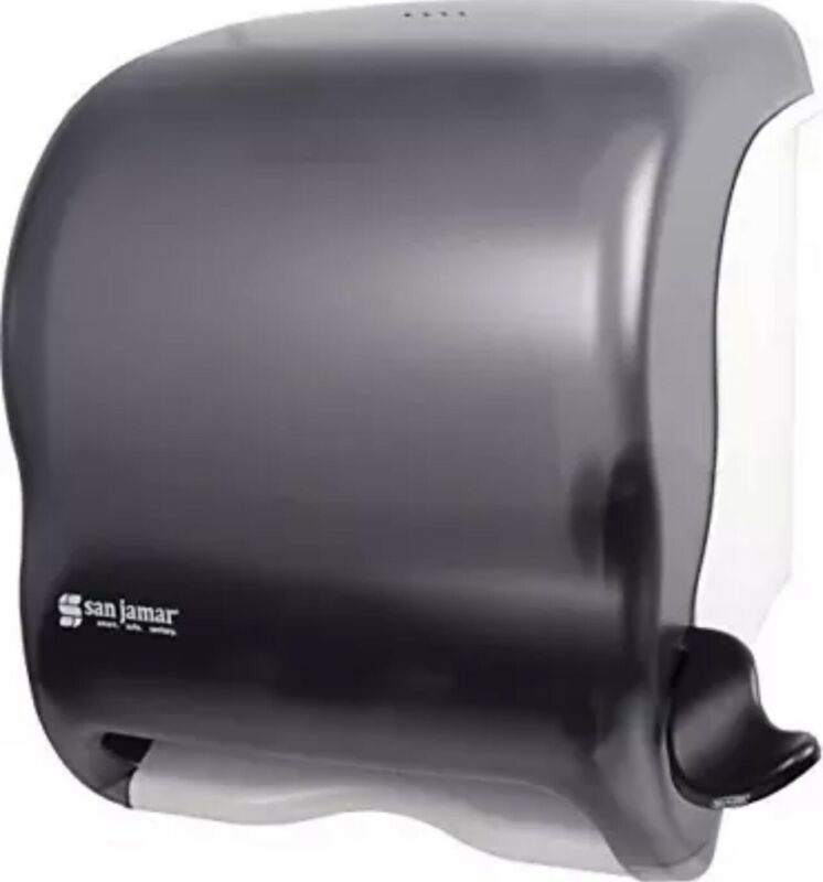 San Jamar T950TBK Element Lever Roll Towel Dispenser, Black