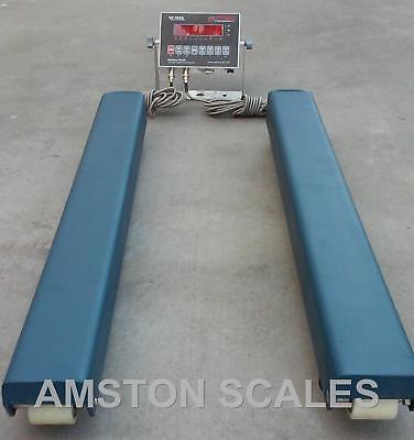 5000 Lb Weigh Bars Beams Vet Veterinarian Load Livestock Scale Cow 48 X 4 Inch