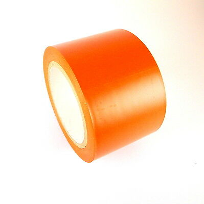 1 Roll Vinyl Tape - Orange - 3 72mm X 108 Ft