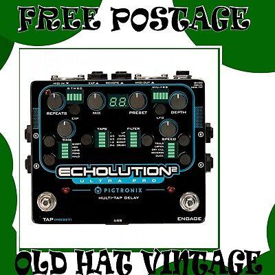 Pigtronix Echolution 2 Ultra Pro Multi-Tap Delay Pedal RRP £599
