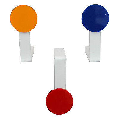 ACCLAIM Ditchmarkers Complete Set Three Bowls Bowlers Weighted Red Blue Orange
