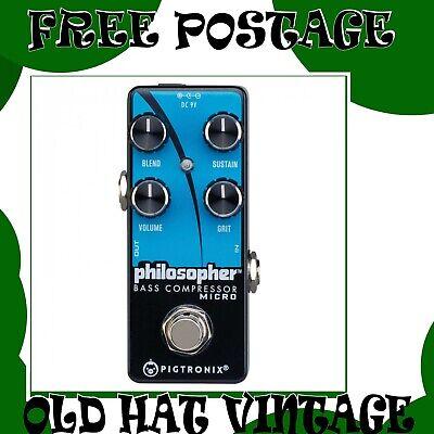Pigtronix Philosopher Bass Compressor Micro RRP £159.99