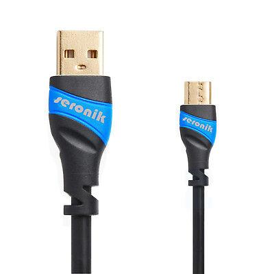 2m Micro USB Kabel Ladekabel SCHNELL Datenkabel Mikro - Samsung Handy Tablet PS4