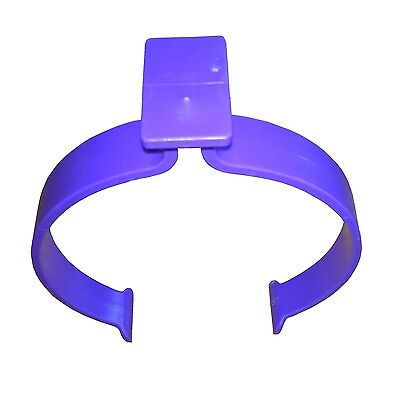5 x Plastic Flexible Clips For Holding Rolls Of Sign Vinyl, Better than