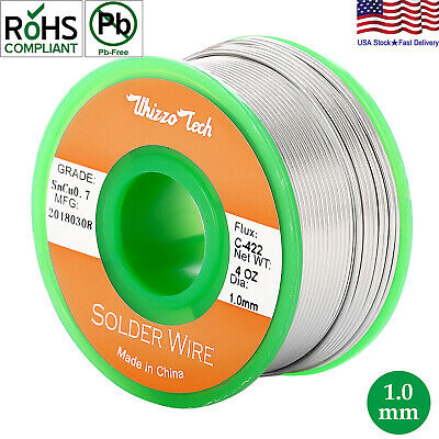 100g A roll of 0.5mm Tin Lead Rosin Core Solder Soldering Wire New AF