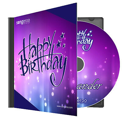(Personalised Pop Party Happy Birthday Song with ANY Name MP3 File or Physical CD)