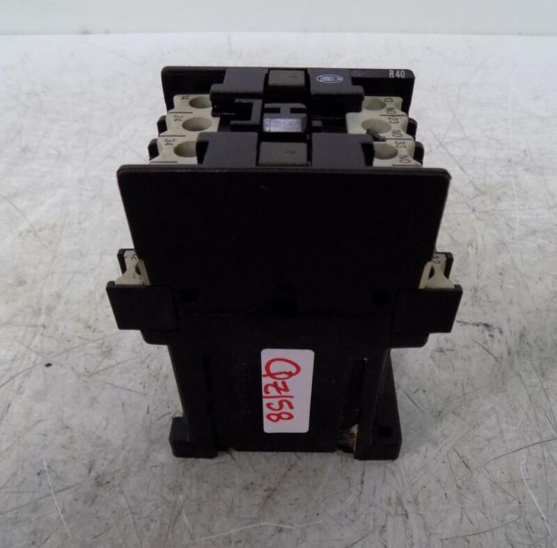 KLOCKNER MOELLER CONTACTOR DIL R40-G