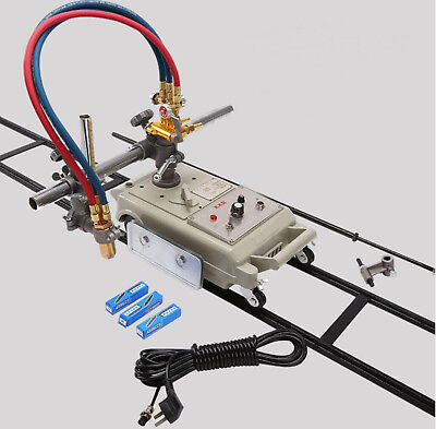 220v Cg1-30 Gas Cutter Cutting Machine Torch Track Burner With Acetylene Nozzle