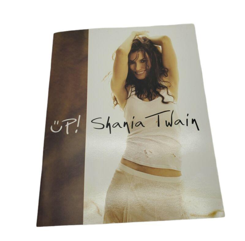 Shania Twain 2004 Up! Tour Concert Program Book Booklet