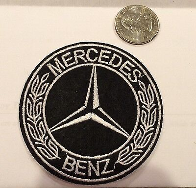 Embroidered Emblems (Mercedes Benz  Logo/ Emblem Embroidered Iron On Patches. 3