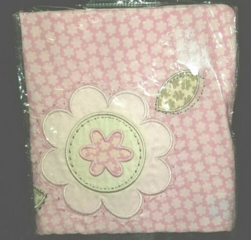 Sumersault DAISY Valance Baby Girl Nursery Flowers Pink Adorable 15x44 NEW