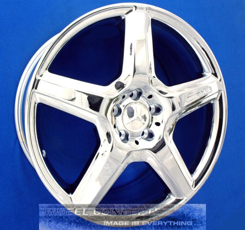 """Mercedes S550 S600 S63 S65 Amg 20"""" Chrome Wheels Rims Cl550 Cl600 Cl 63 S 55 550"""