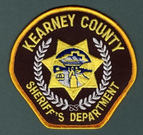 Kearney County Nebraska Sheriff Police Patch