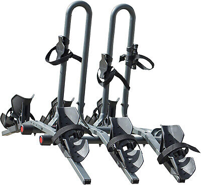 SUV Bike Rack For Car Mount Tow Hitch 3 Folding Truck Bicycle Carrier Travel ()