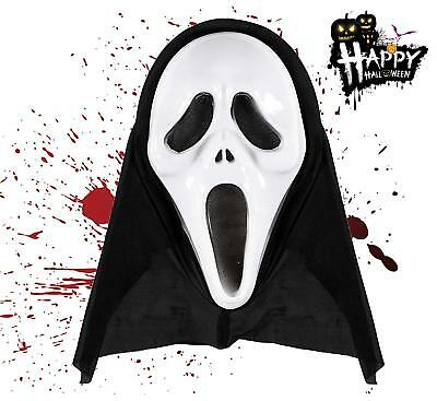 Scream Maske Horror Halloween Maske Ghost Kostüm Latexmaske Zombie Fasching
