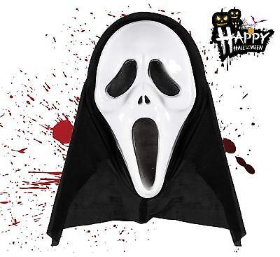 Scream Maske Horror Halloween Maske Ghost Kostüm  Zombie Fasching