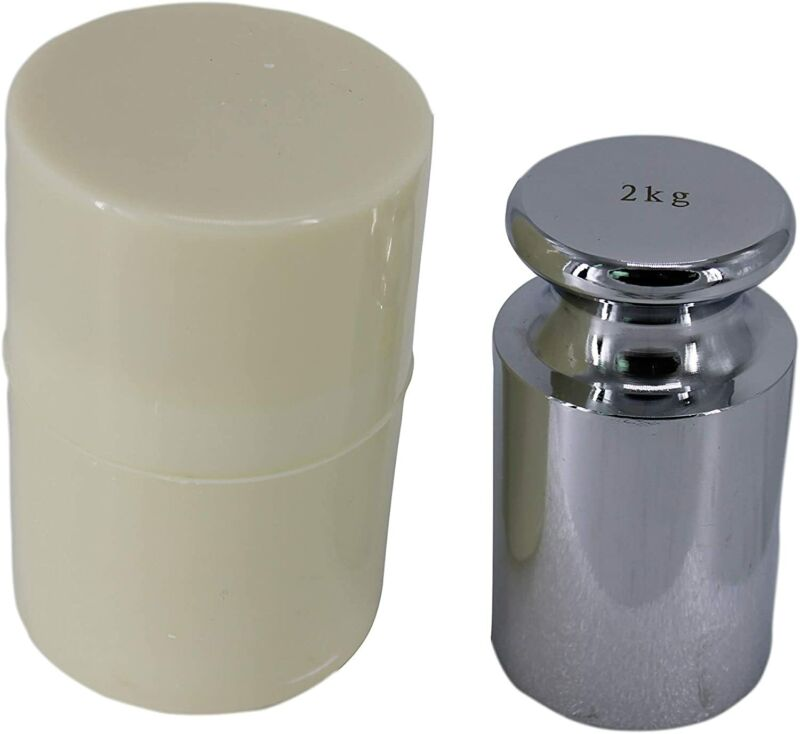 HFS(R) Chrome Scale Calibration Weight 2000G
